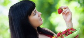 Envie de fraises de la femme enceinte
