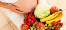 La femme enceinte végétarienne